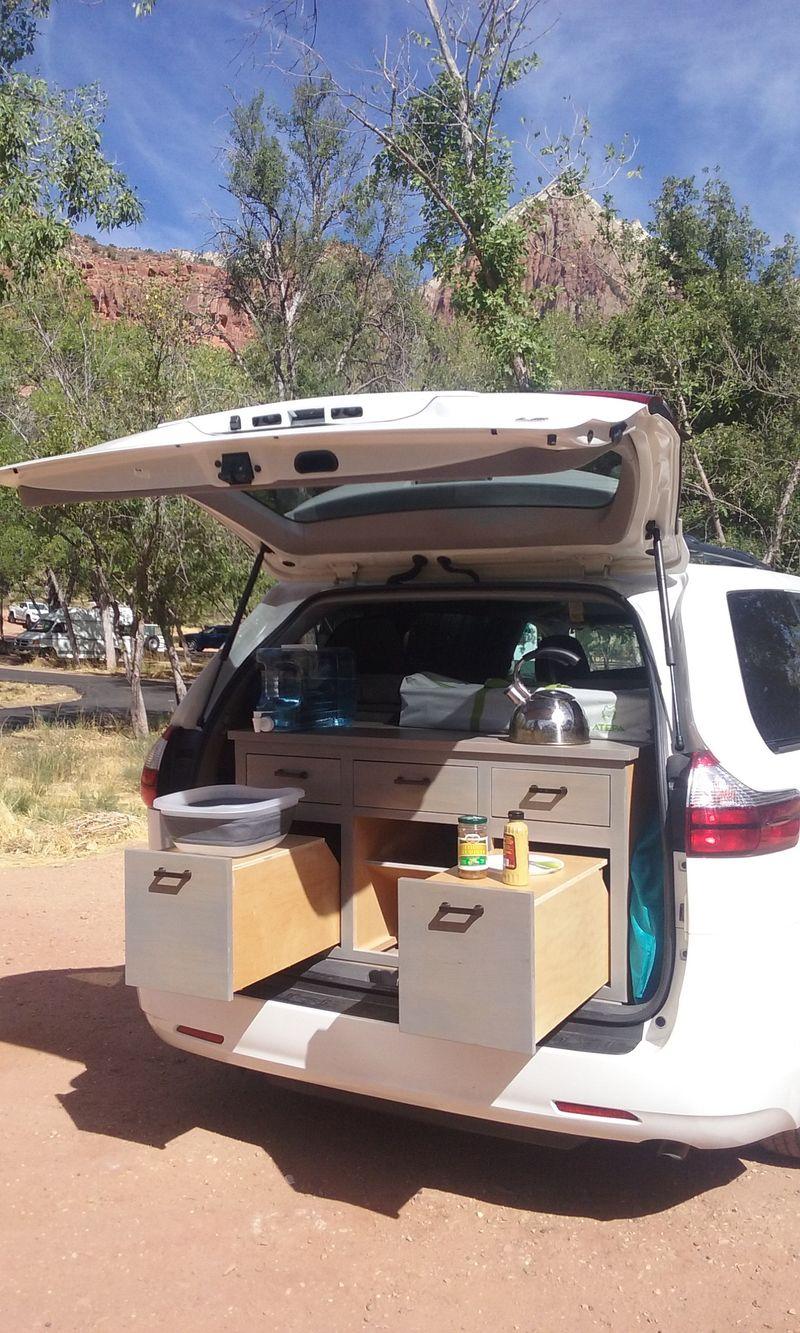 Picture 4/9 of a 2018 Toyota Sienna Camper Van/Modular/Stealth for sale in Santa Cruz, California