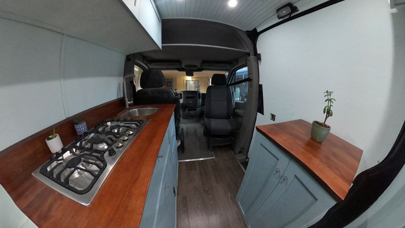 Picture 6/10 of a Sprinter Van with Bed Lift and Mercedes WARRANTY! for sale in Moab, Utah