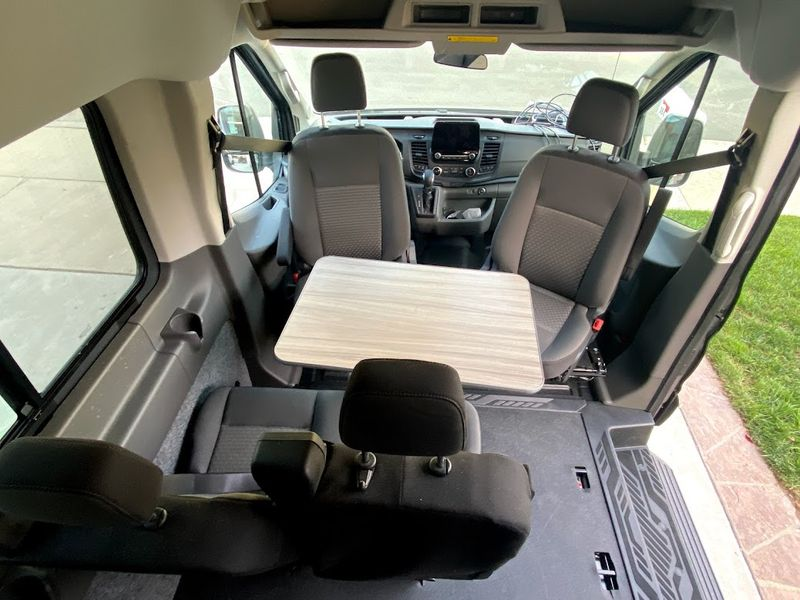 Picture 3/10 of a 2021 AWD Ford Transit  Weekender with Pop Top *sold* for sale in Sand Point, Alaska