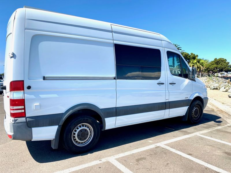 Picture 4/20 of a Fully outfitted Custom Hi-top Sprinter 144 van for sale in San Diego, California