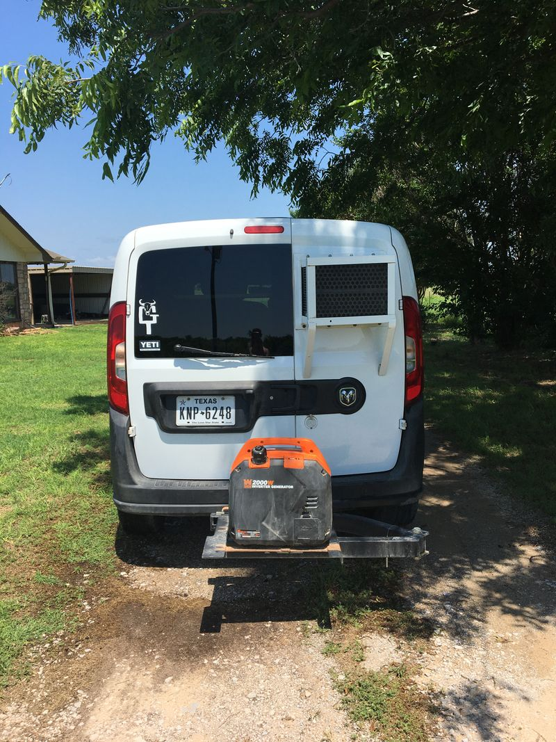 Picture 3/17 of a 2016 Ram Promaster City Camper conversion & AC  for sale in Cross Plains, Texas