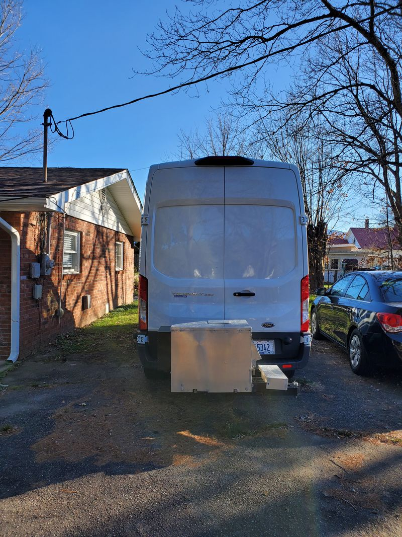 Picture 6/15 of a 2018 Ford Transit 250 High Roof Medium Length Full Sleeper with Cargo Bay  for sale in Asheville, North Carolina