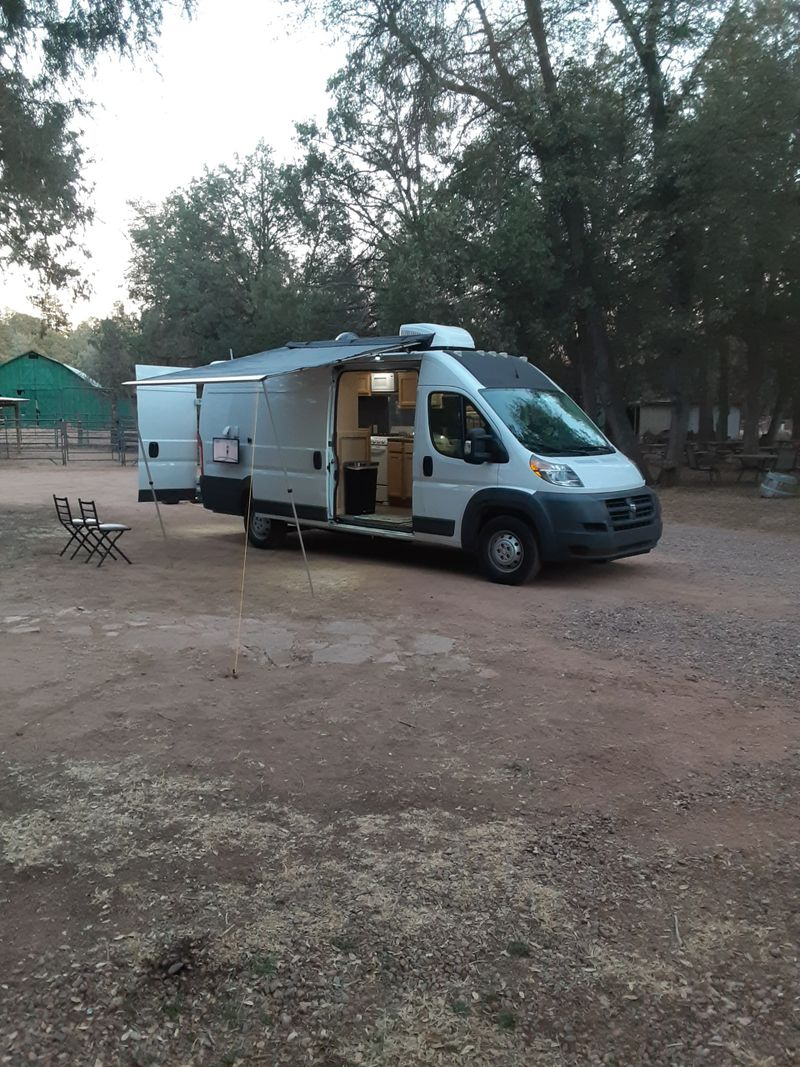 Picture 1/12 of a 2017 Dodge RAM ProMaster High Roof Extended Camper for sale in Mesa, Arizona