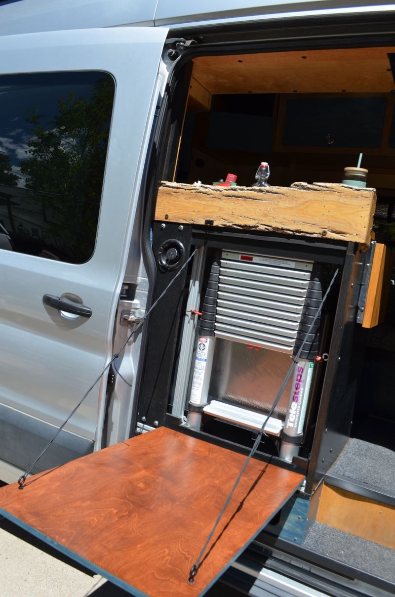 Picture 6/23 of a 2017 Ford Transit 350, High Roof, RWD, Full Build for sale in Flagstaff, Arizona