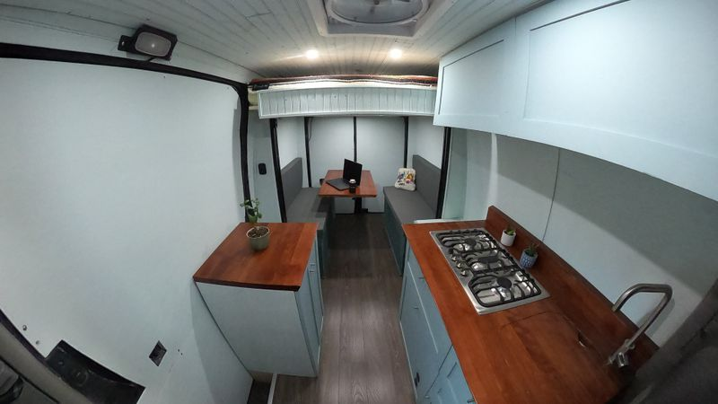 Picture 3/10 of a Sprinter Van with Bed Lift and Mercedes WARRANTY! for sale in Moab, Utah