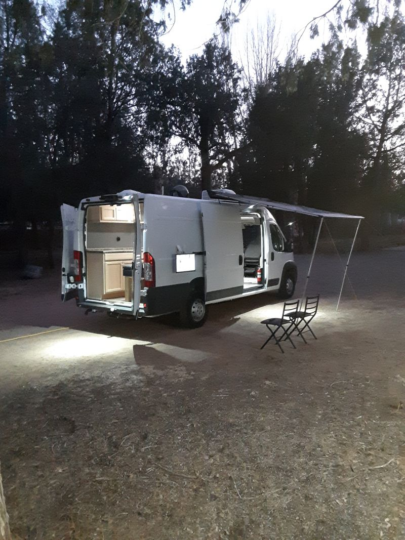 Picture 2/12 of a 2017 Dodge RAM ProMaster High Roof Extended Camper for sale in Mesa, Arizona