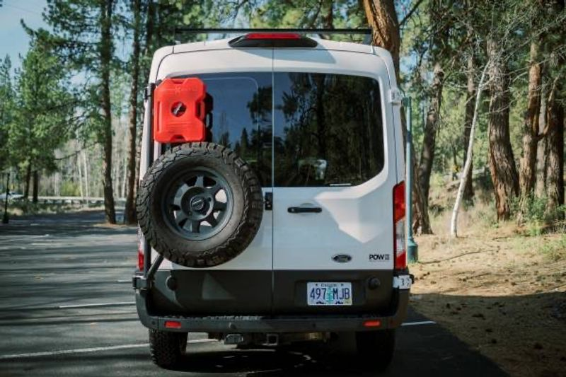 Picture 5/15 of a 2019 Ford Transit MR Quigley 4x4 Adventure Van for sale in Bend, Oregon