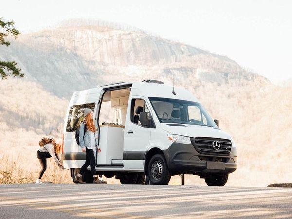Photo of a campervan for sale: (SOLD) 2020 Camper van less than 1k miles
