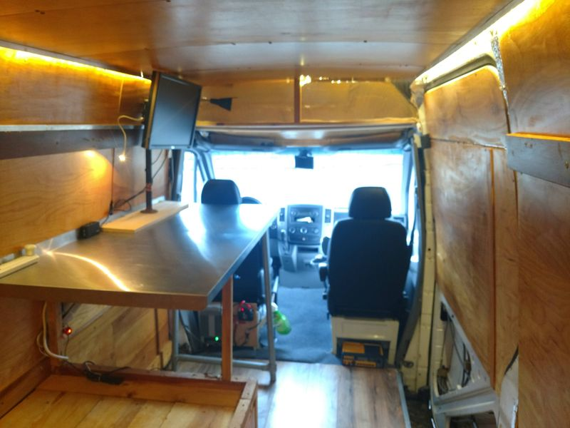 Picture 5/12 of a Custom High-Top 2007 Sprinter van with solar for sale in Birmingham, Alabama