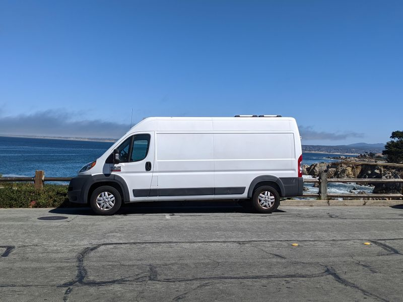 Picture 1/10 of a 2018 Ram ProMaster 2500 for sale in Monterey, California
