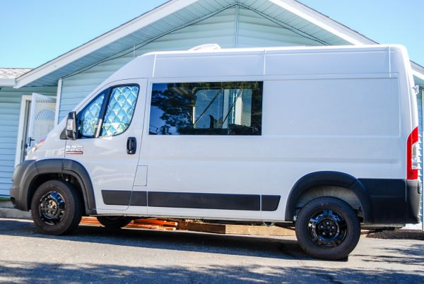 """Photo of a campervan for sale: (SOLD) 2021 Ram Promaster 1500 136"""" WB Factory Warranty"""