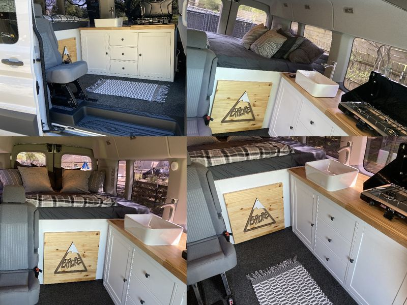 Picture 1/11 of a 2015-2021 Ford Transit modular camper van build for sale in Pearland, Texas