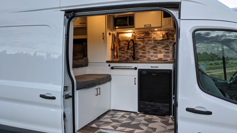 Picture 3/19 of a 2017 ford Transit 350 stealth campervan for sale in Cold Spring, Minnesota
