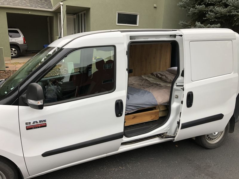 Picture 6/18 of a 2019 Ram Promaster City campervan for sale in Boulder, Colorado