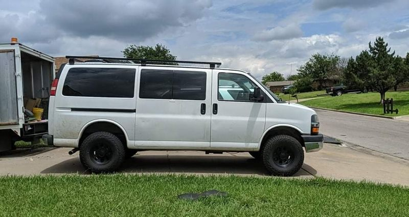 Picture 3/10 of a Big Betty   '14 Chevy Express Van 4x4 !! for sale in Lawton, Oklahoma