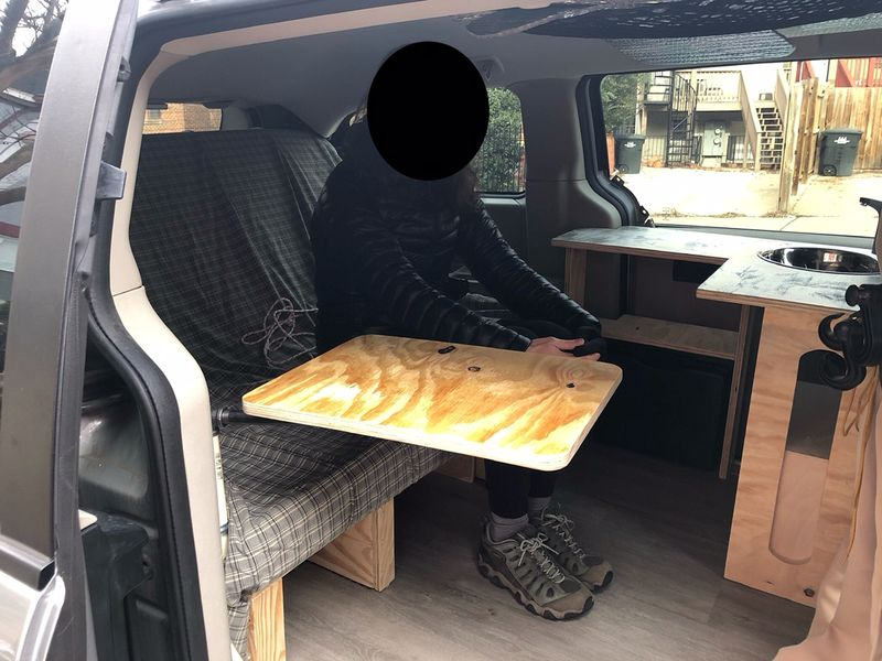 Picture 6/18 of a 2013 Dodge Ram Cargo Van = Stealth Camper Van for sale in Washington, District of Columbia