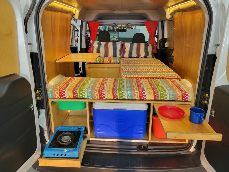 Picture 2/8 of a 2017 Ram Promaster City Campervan for sale in Littleton, Colorado