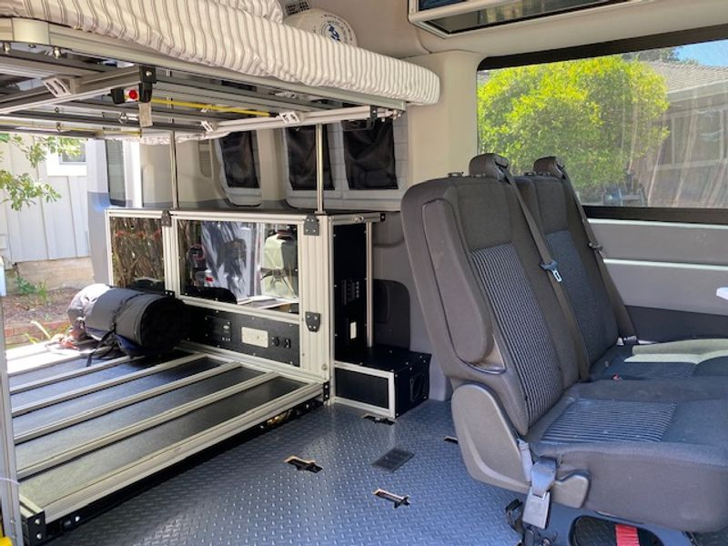 Picture 4/16 of a 2019 Transit 350 by VanDoIt for sale in Portola Valley, California
