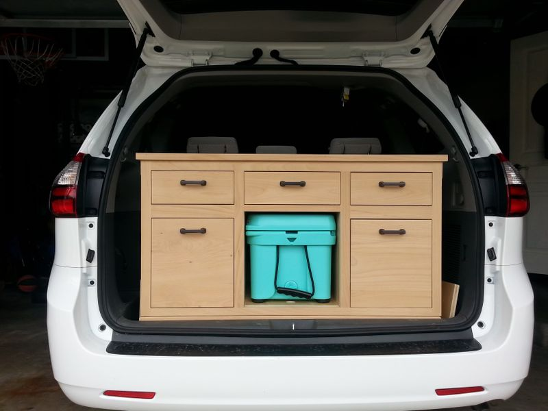 Picture 5/9 of a 2018 Toyota Sienna Camper Van/Modular/Stealth for sale in Santa Cruz, California