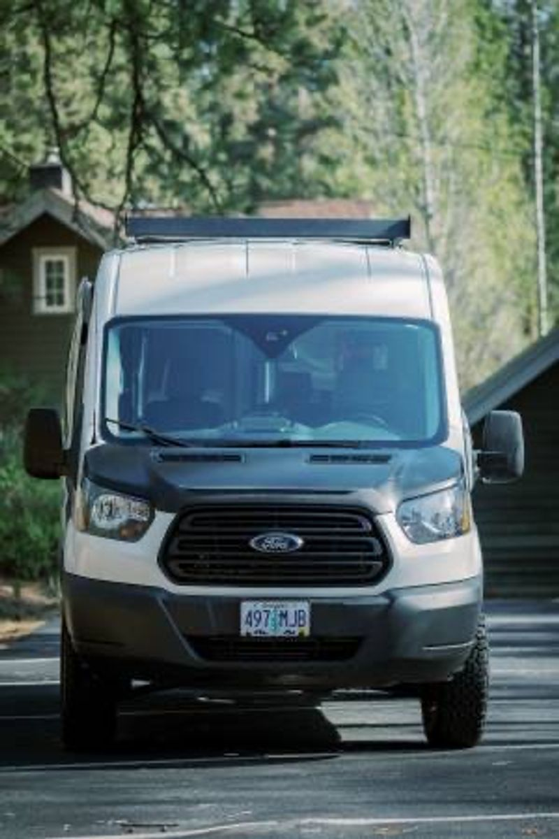 Picture 2/15 of a 2019 Ford Transit MR Quigley 4x4 Adventure Van for sale in Bend, Oregon