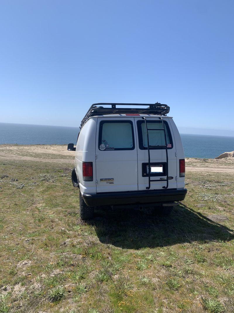 Picture 4/22 of a Ford E250 Surf/MTB Camper for sale in Santa Cruz, California