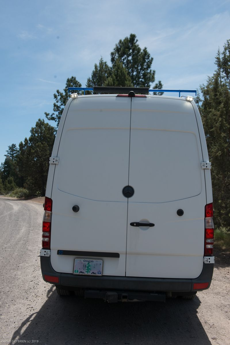 Picture 1/18 of a Mercedes-Benz Sprinter 3500 Outside Van for sale in Bend, Oregon