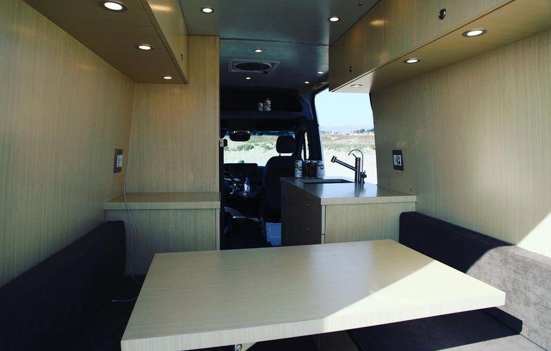 Picture 4/18 of a 4X4 Sprinter Stealth Camper Conversion for sale in San Luis Obispo, California