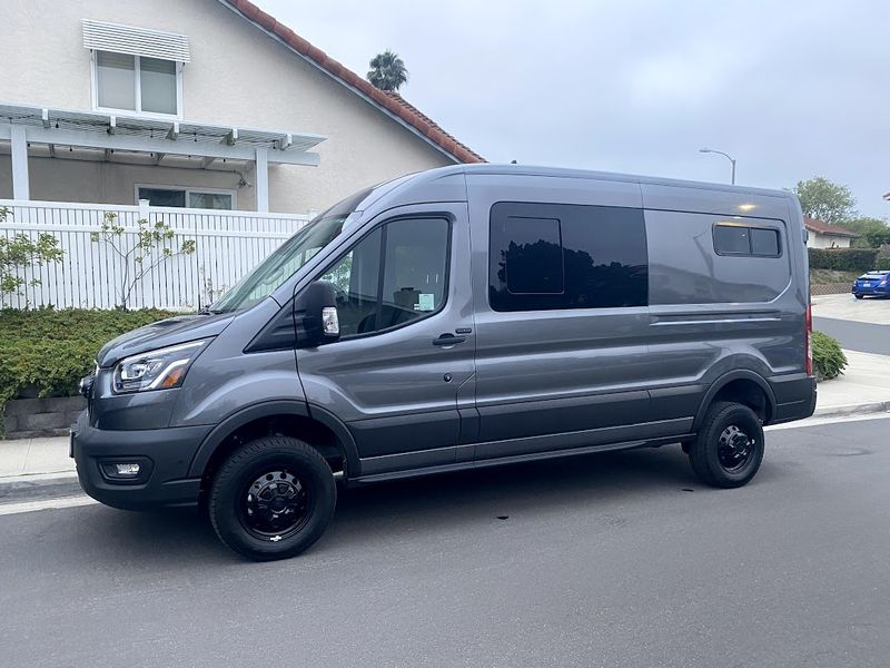 Picture 1/10 of a 2021 AWD Ford Transit  Weekender with Pop Top *sold* for sale in Sand Point, Alaska
