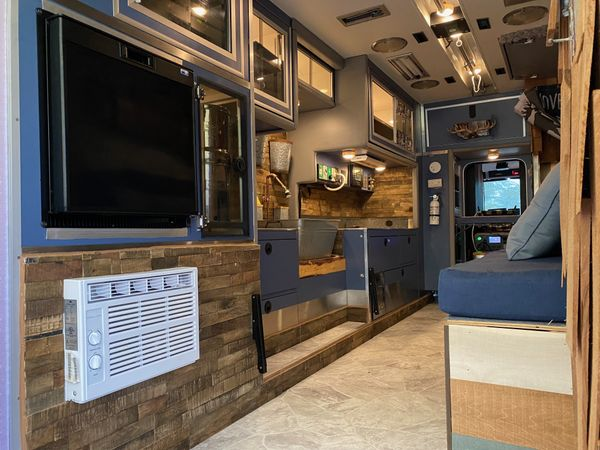 Photo of a campervan for sale: The MOOSE - Ultimate Ambulance Conversion -Seats 5