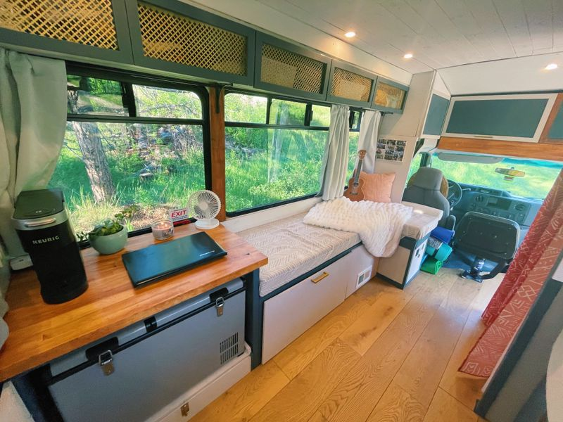 Picture 2/3 of a 2014 Ford E450 Shuttle Bus Conversion for sale in San Francisco, California
