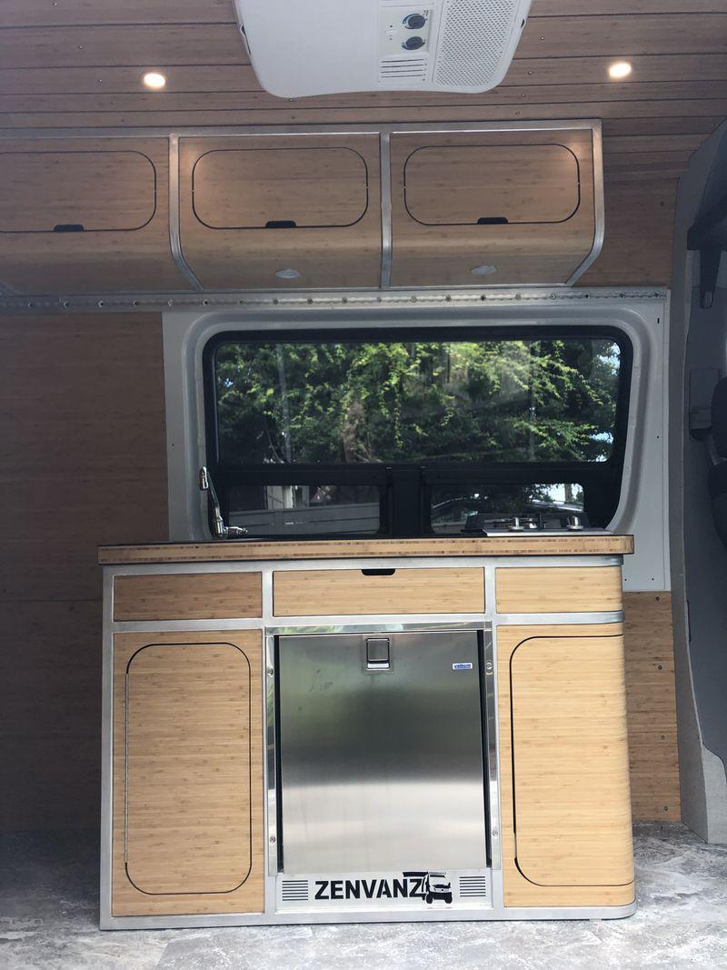 Picture 4/12 of a 2018 Mercedes Sprinter 4x4 + ZenVanz camper build for sale in Bozeman, Montana