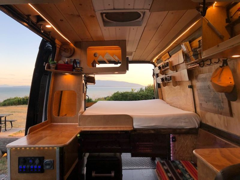 """Picture 1/24 of a 2008 Sprinter 144"""" / 2020 Conversion  for sale in Bellingham, Washington"""