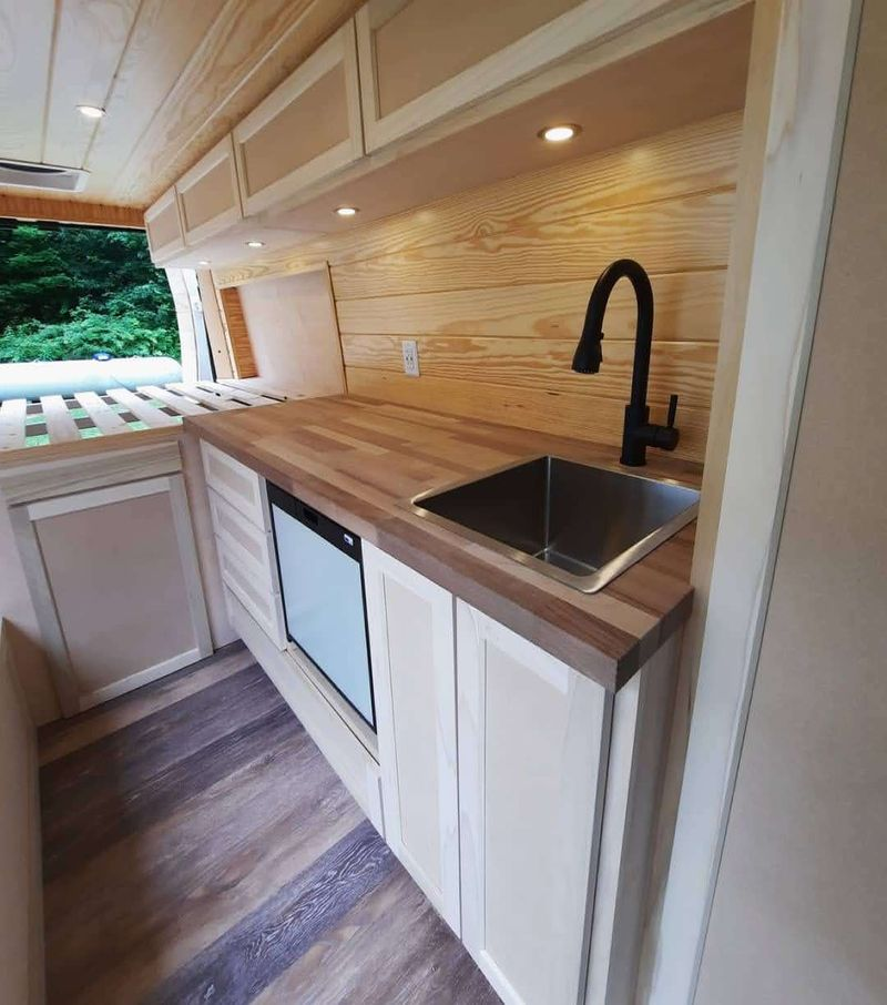 """Picture 2/8 of a 2021 Promaster 159"""" Professionally Built for sale in Boone, North Carolina"""