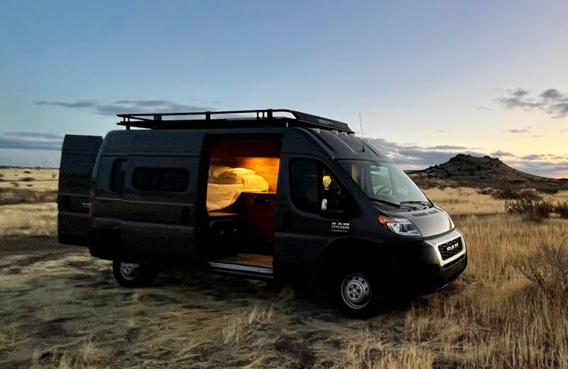 Picture 1/10 of a Professionally Built 2020 Ram Promaster Campervan for sale in Gilbert, Arizona