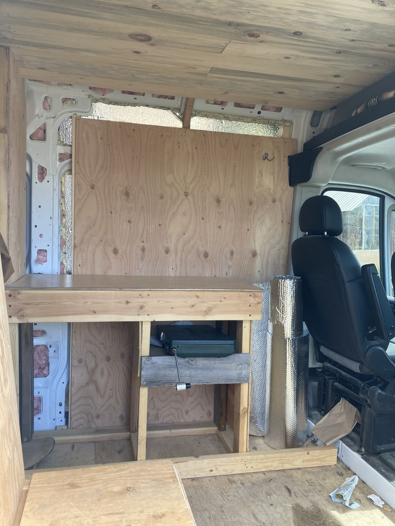 Picture 2/12 of a 2019 Promaster build out project! for sale in Jackson, Wyoming