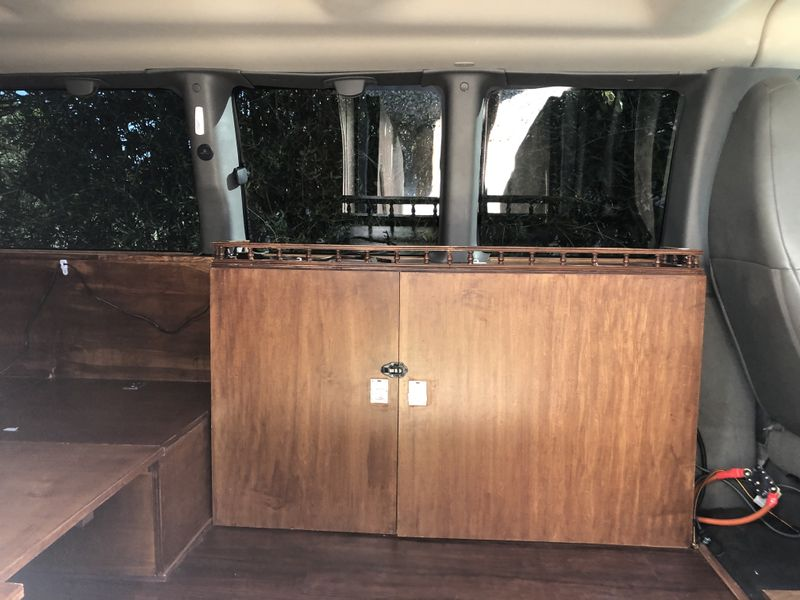 Picture 6/16 of a 2017 Chevy Express 3500 Conversion Camper Van for sale in Santa Barbara, California