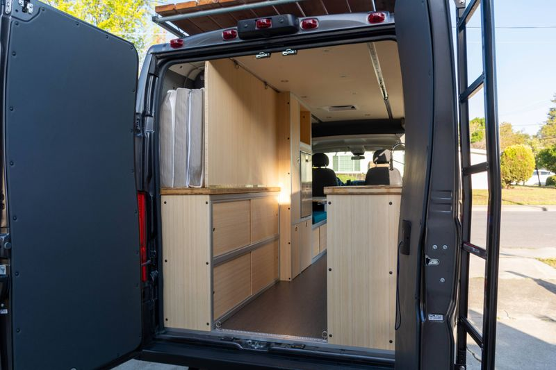Picture 4/12 of a '21 Promaster Professionally Built Camper for sale in Sunnyvale, California