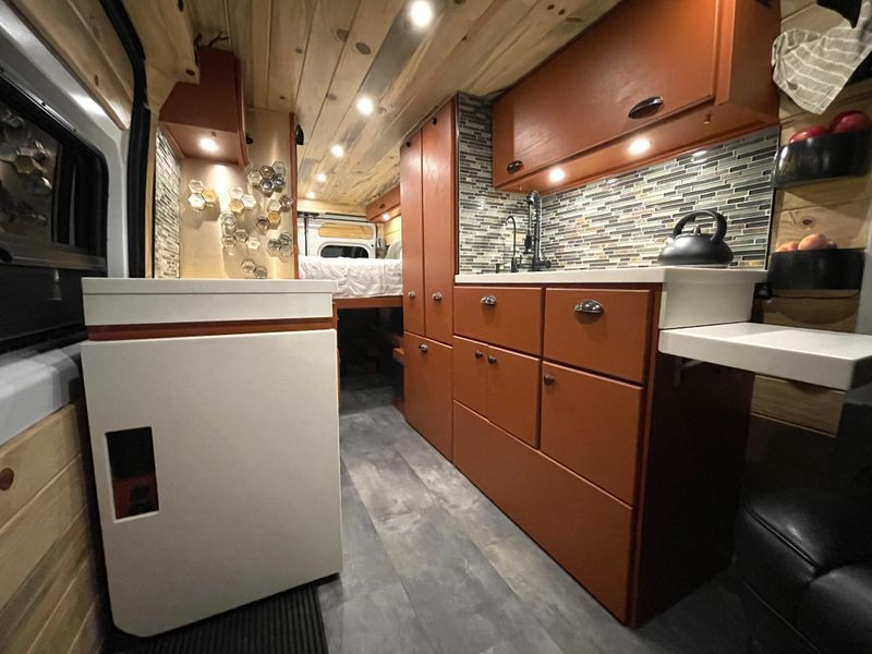 Picture 1/45 of a Custom 4-Season Van Conversion! 600W Solar!!! for sale in Littleton, Colorado