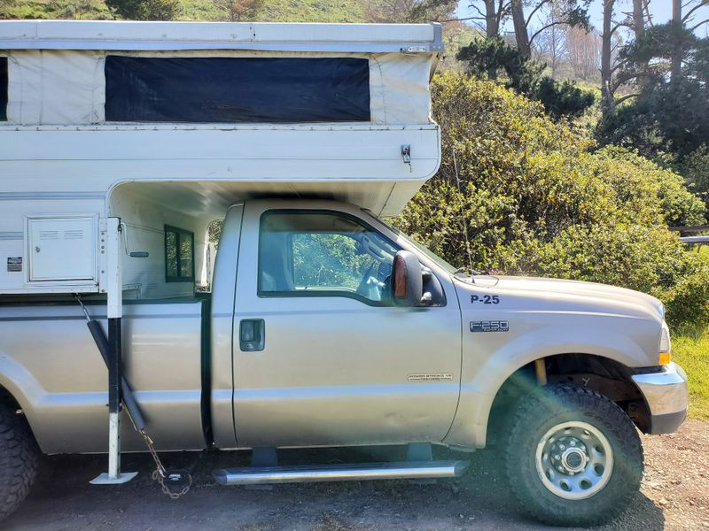 Picture 5/22 of a 04 F-250 4WD w/ pop up truck camper for sale in Seattle, Washington