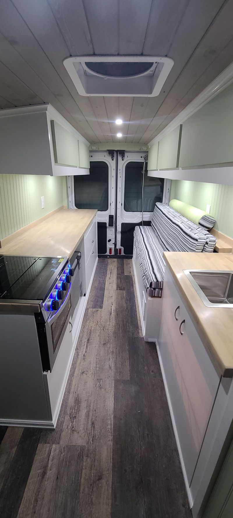 Picture 2/16 of a 2019 Ford Transit 250 (2021 Converstion) $63500 for sale in Lapeer, Michigan