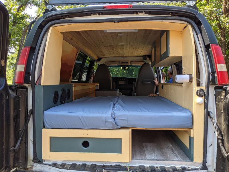 Picture 4/10 of a Big Betty   '14 Chevy Express Van 4x4 !! for sale in Lawton, Oklahoma