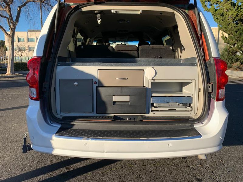 Picture 2/19 of a 2012 Dodge Caravan SXT Camper Van Converted Mini RV for sale in Martinez, California