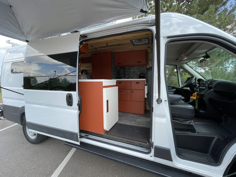 Picture 4/45 of a Custom 4-Season Van Conversion! 600W Solar!!! for sale in Littleton, Colorado