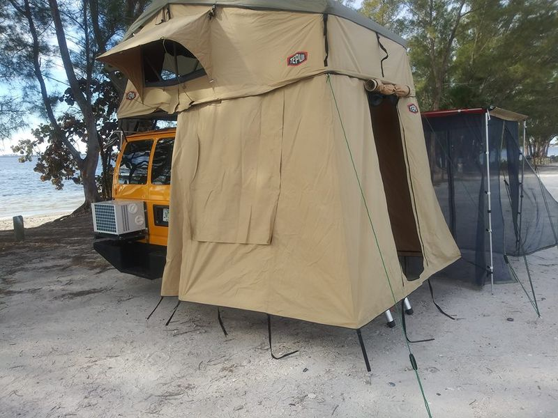 Picture 1/9 of a Ford E350 extended Camper van 2008 5.4 gas for sale in Tampa, Florida