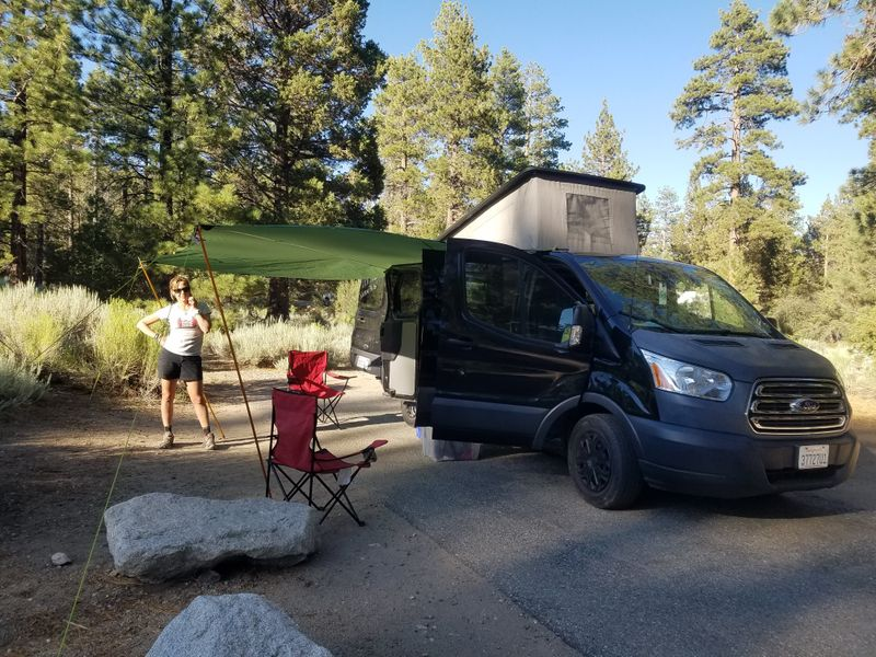 Picture 2/23 of a 2015 Ford Transit Camper for sale in Huntington Beach, California