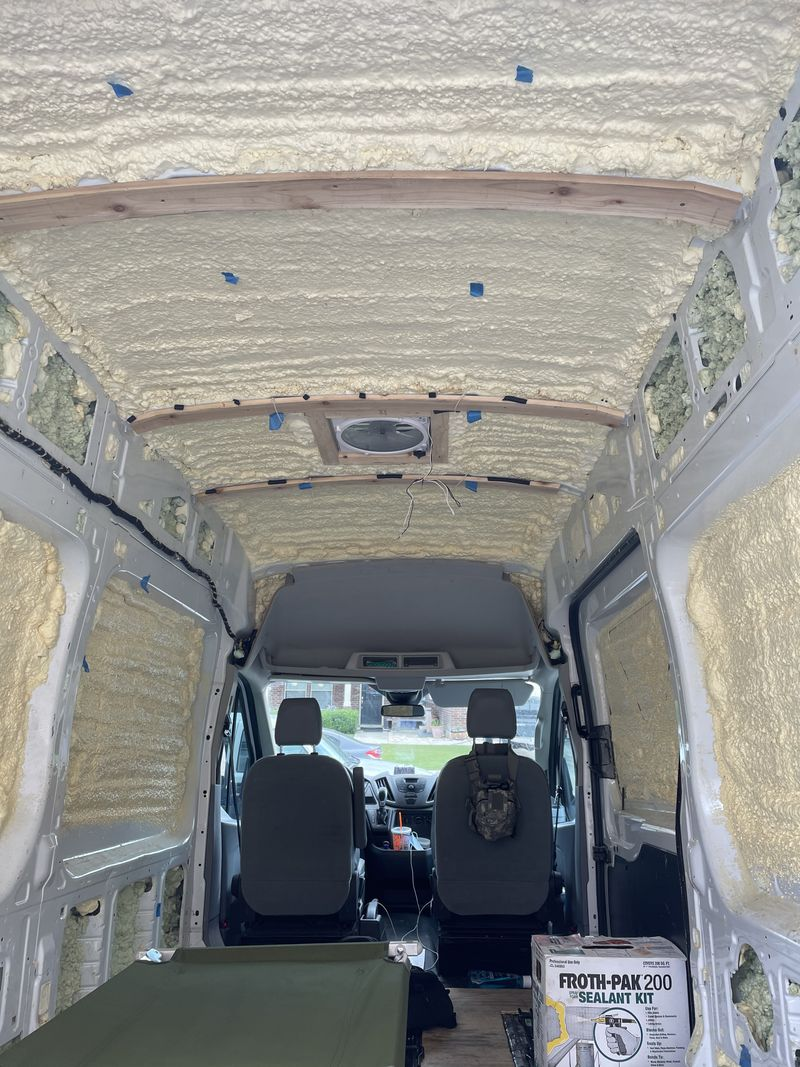"""Picture 6/12 of a 2017 Ford Transit 250 LWB, 148"""" high roof 3 Door for sale in San Antonio, Texas"""