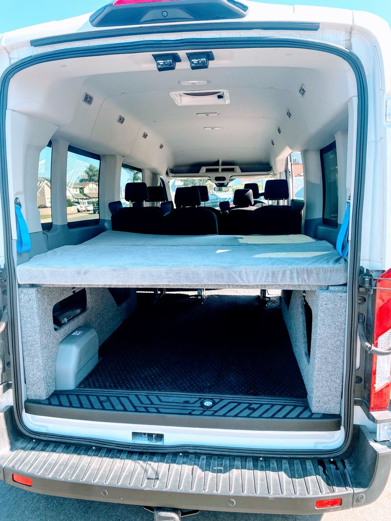 Picture 6/12 of a 2019 Ford Transit Mid-Roof Conversion Van EcoBoost for sale in Huntington Beach, California