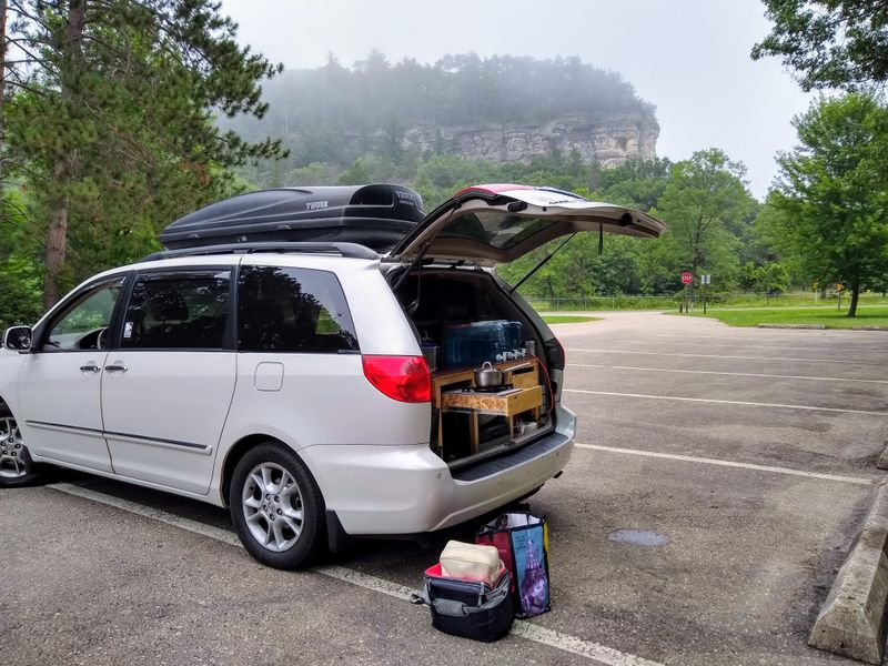Picture 4/16 of a 2006 Toyota Sienna XLE AWD Converted to Sleeper for sale in New Paltz, New York