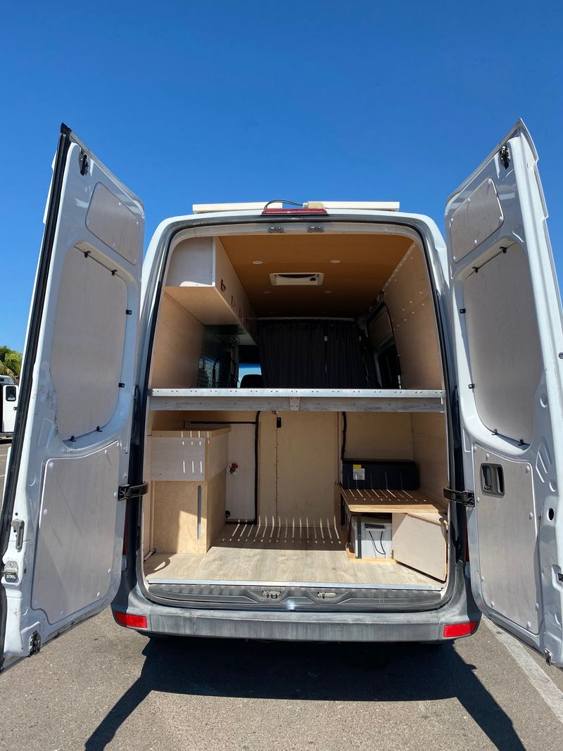 Picture 5/20 of a Fully outfitted Custom Hi-top Sprinter 144 van for sale in San Diego, California